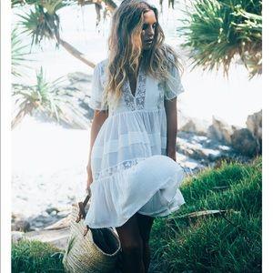 Spell unicorn tears white dress